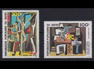 Benin 1981 Gemälde von Pablo Picasso Mi.-Nr. 272-273 postfrisch **