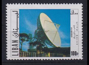 Libanon 1971 Radio-Teleskop Mi.-Nr. 1125 postfrisch **