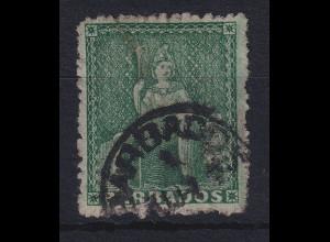Barbados 1870 Sitzende Britannia Mi.-Nr. 11 b A gestempelt