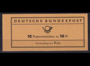 Bundesrepublik 1961 Th. Heuss Markenheftchen Mi.-Nr. MH 6 e **