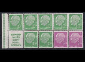 Bundesrepublik 1955 Heuss Heftchenblatt Mi.-Nr. 4 **