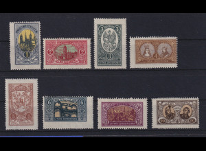 Mittellitauen 1921 Freimarken Mi.-Nr. 34-41 A Satz kpl. postfrisch **