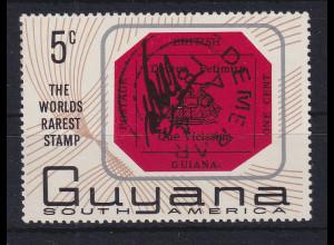 Guyana 1967 110 Jahre Britisch-Guyana rot Mi.-Nr. 267 **