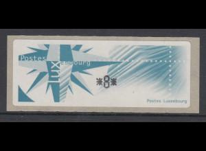 Luxemburg 1997 Monétel-ATM Windrose, Mi.-Nr. 4 **