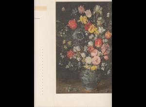Dt. Bundespost 1965 Schmuckblatt-Telegramm Blumenvase gebr. Top-Zustand