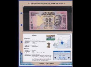 Indien 1997 Banknote 50 Rupien