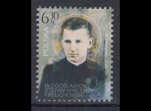 Polen / Polska 2019 Priester Stefan Wincenty Frelichowski Mi.-Nr. 5145 **