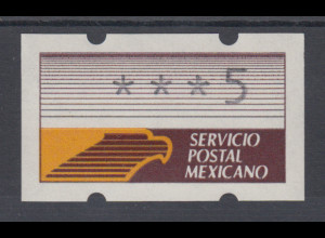 Mexiko Klüssendorf-ATM Mi.-Nr. 1 **