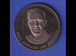 Silbermedaille 1984 P. A. J. Janssen - 25 Jahre Janssen Deutschland 14,5g Ag ?