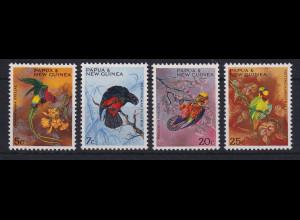 Papua Neu Guinea 1967 Papageien Satz Mi.-Nr. 123-126 **