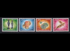 Papua Neu Guinea 1976 Kunsthandwerk Satz Mi.-Nr. 302-306 **