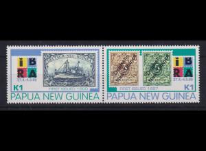 Papua Neu Guinea 1999 Historische Briefmarken Satz Mi.-Nr. 860-861 **
