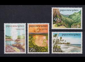 Papua Neu Guinea 1985 Landschaften Satz Mi.-Nr. 487-490 **