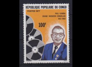 Kongo / Congo 1977 Musiker Paul Kamba Mi.-Nr. 592 postfrisch **
