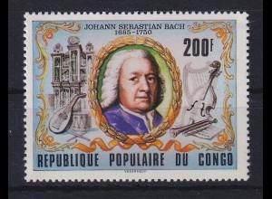 Kongo / Congo 1979 Johann Sebastian Bach Mi.-Nr. 696 postfrisch **
