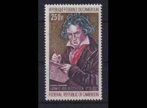 Kamerun 1970 200. Geburtstag Ludwig van Beethoven Mi.-Nr. 630 postfrisch **