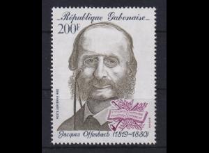 Gabun 1980 Jacques Offenbach Mi.-Nr. 727 postfrisch **
