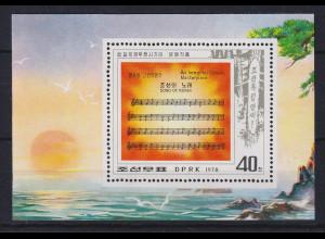 Nordkorea 1978 Das Lied von Korea Mi.-Nr. Block 48 postfrisch **