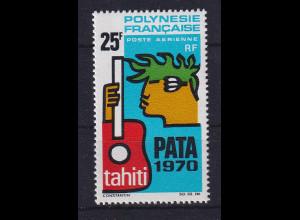 Französisch-Polynesien 1969 Tourismus-Konferenz Gitarre Mi.-Nr. 93 **