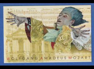 Tschechische Republik 2011 Mozart Markenheftchen Mi.-Nr. MH 0-164 **