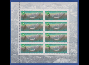 Sowjetunion 1987 Schawla-Schlucht im Altai-Gebirge Mi.-Nr. 5686 KLB **