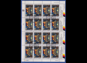 Marshall-Islands 1990 Brandenburger Tor Mi.-Nr. 320 ganzer Bogen gestempelt