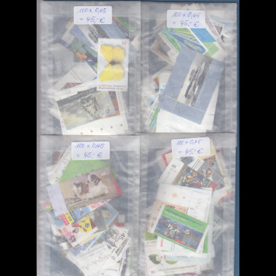 Frankaturware Deutschland original postfrisch: 400 x 0,45€ = 180€ Frankaturwert