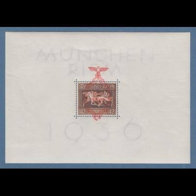 Deutsches Reich 1937 Braunes Band Mi.-Nr. Block 10 postfrisch **