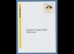 Bund 2010 Plus-Brief Kreativ 145 Postkutsche Selbstklebe-Formular, voradressiert