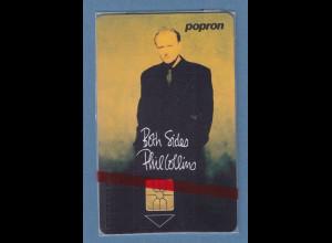 Tscheschische Republik Telefonkarte popron 100 Einh. Both Sides Phil Collins