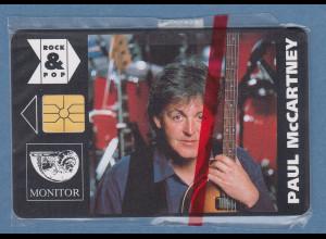 Tscheschische Republik Telefonkarte MONITOR 50 Einh. Paul McCartney Beatles