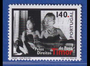 Portugal 1996 Menschenrechte auf Ost-Timor Mi.-Nr. 2166 **