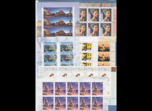 Frankaturware Deutschland orig. postfrisch, 70x 0,58€ in 10er-Bogen = 40,60 €
