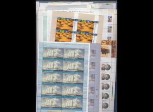 Frankaturware Deutschland orig. postfrisch 1000x 0,55€ in 10er-Bogen = 550,00 €