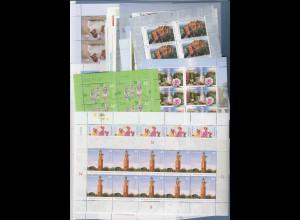 Frankaturware Deutschland orig. postfrisch 560x 0,45€ in 10er-Bogen = 252,00 €