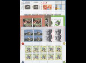 Frankaturware Deutschland orig. postfrisch 100x 0,62€ in 10er-Bogen = 62,00 €