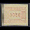 Österreich 1983 1. FRAMA-ATM Ausgabe Posthörner, Mi.-Nr. 1 **