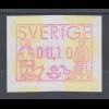 Schweden 1991 , FRAMA ATM Mi.-Nr. 1 **
