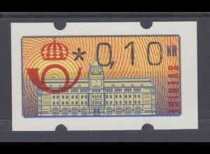 Schweden 1992 , Klüssendorf ATM Mi.-Nr. 2 **