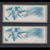 Luxemburg 1997 Monétel-ATM Windrose Satz 2 Werte 16 / 22 , Mi.-Nr. 4 **