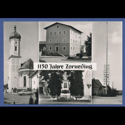 AK Bayern 1150 Jahre Zorneding , Anfang 1960er Jahre