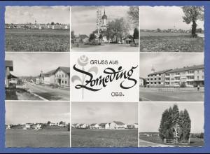 AK Bayern Gruss aus Zorneding bei München , 8 Bilder, Anfang 1960er Jahre