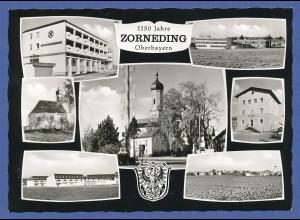 AK Bayern 1150 Jahre Zorneding bei München , 7 Bilder, Anfang 1960er Jahre