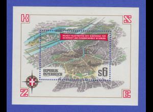 Österreich 1986, Blockausgabe KSZE Wiener Folgetreffen Mi.-Nr. Block 8 **